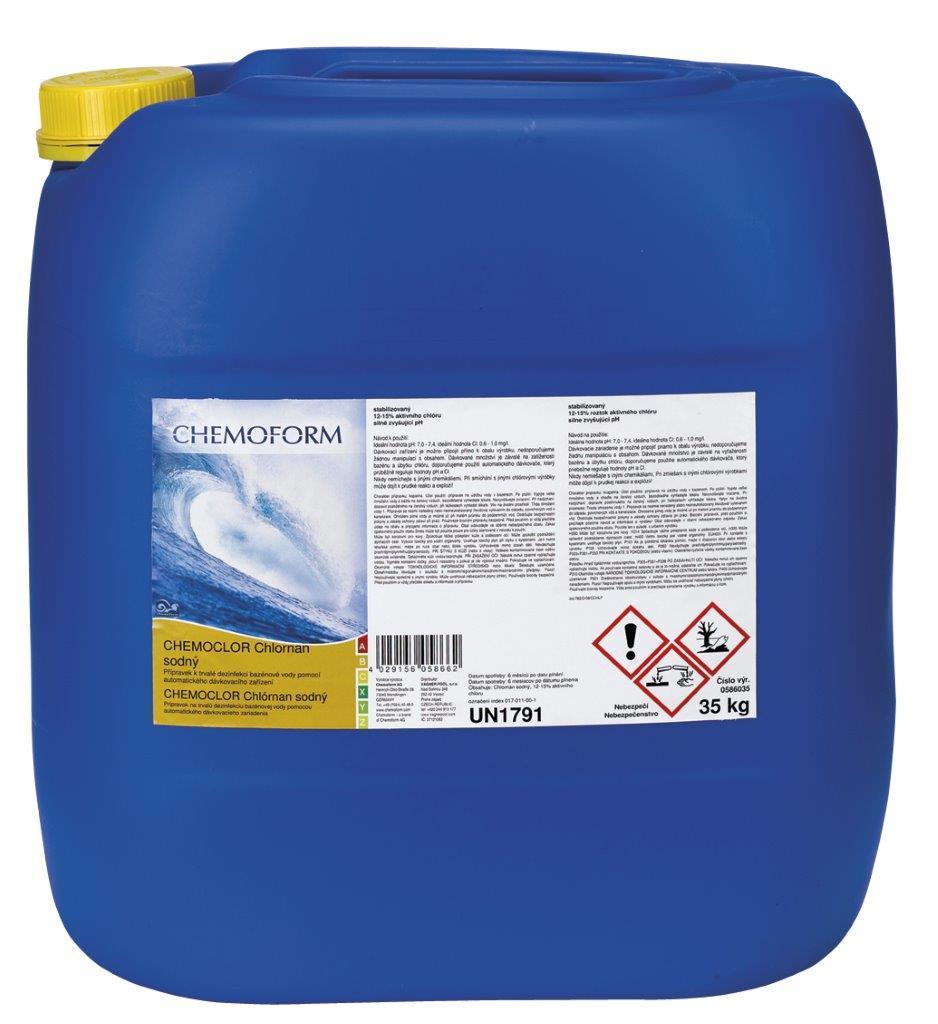 Chlornan sodný - 30 kg, stabilizovaný