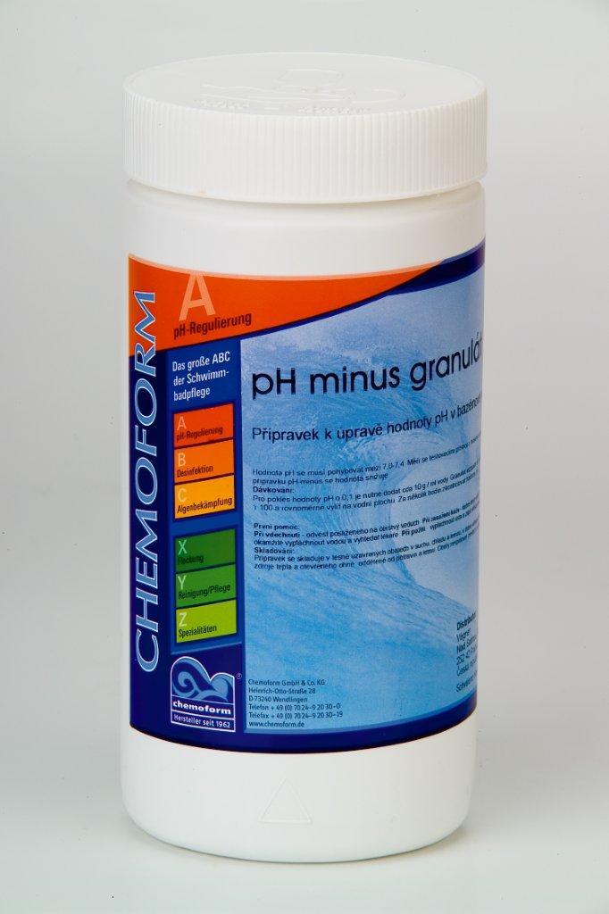 pH Minus 1,5 kg - granulát