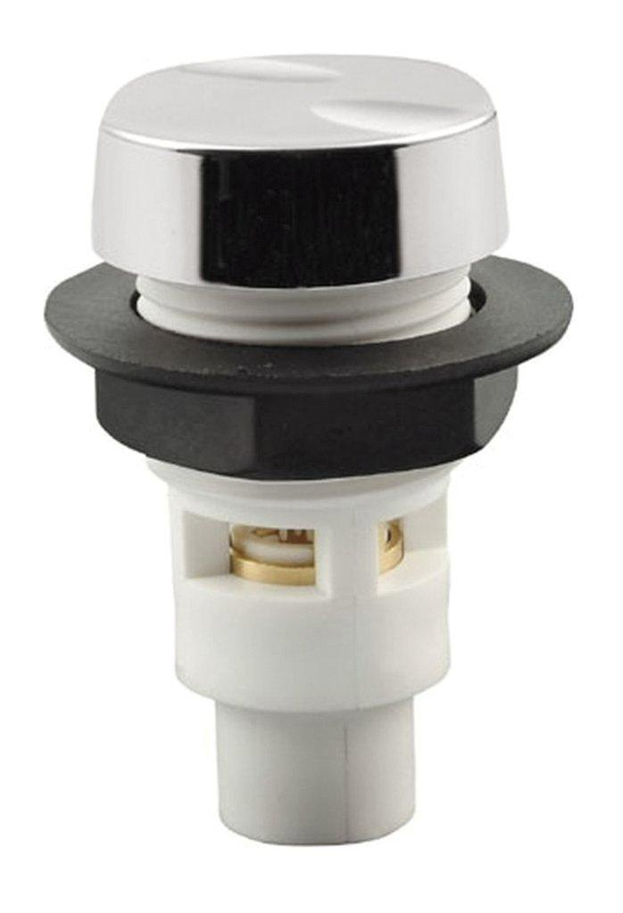 Vzduchový regulátor se zpětným ventilem (chrom)