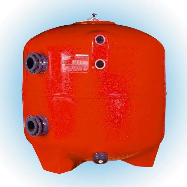 Filtrační nádoba Brasil  1600 mm, průtok 60-80 m3/h, písk. lože 1 m