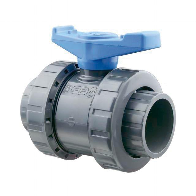 Kulový dvoucestný ventil 63 mm