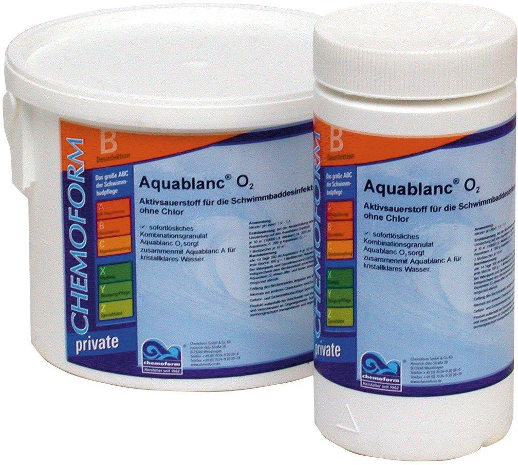 Aqua Blanc–kyslíkové tablety O2 5kg,tableta 20 g,potas. monosulfát 99%