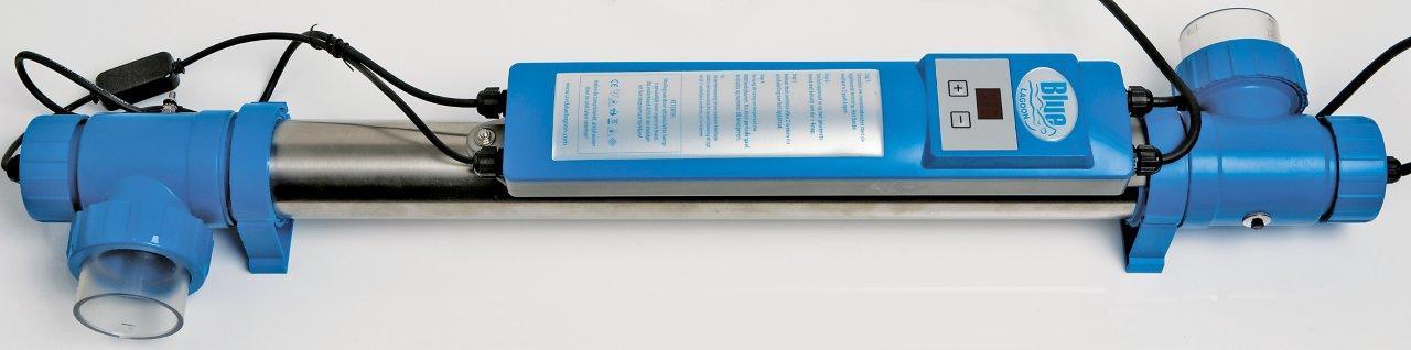 Blue Lagoon UV sterilizátor a ionizer, 40 W/35 m3