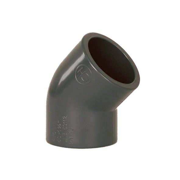 PVC tvarovka - Úhel 45° 250 mm