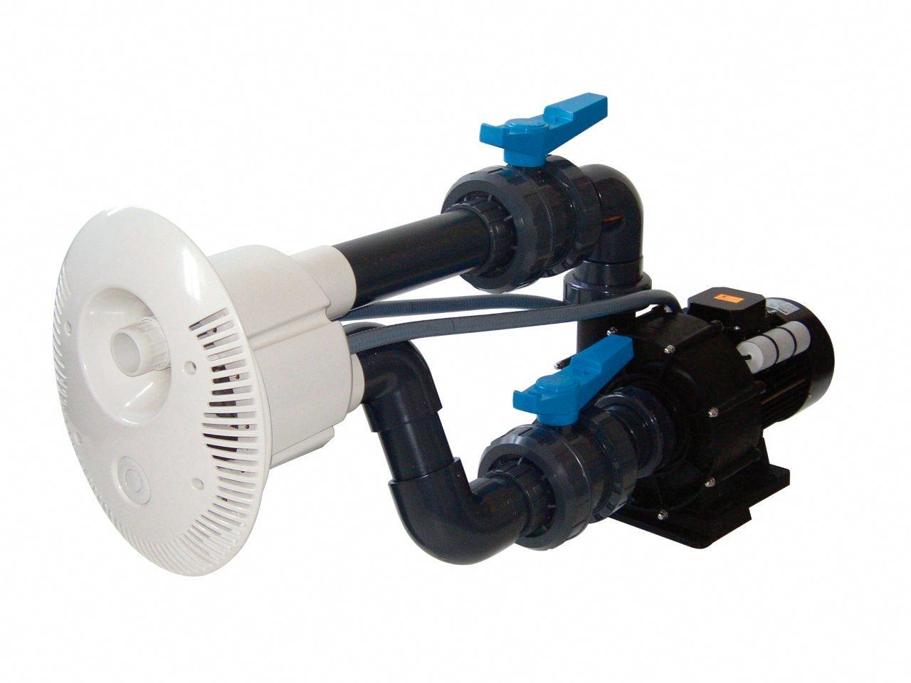 Protiproud V-JET 66 m3/h, 230 V, 2,2 kW, pro fóliové a předvyrobené baz., potrub