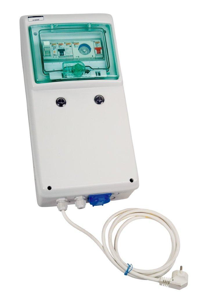 Automatické ovládání pro filtraci/trafo/světlo/protiproud - F1/600W