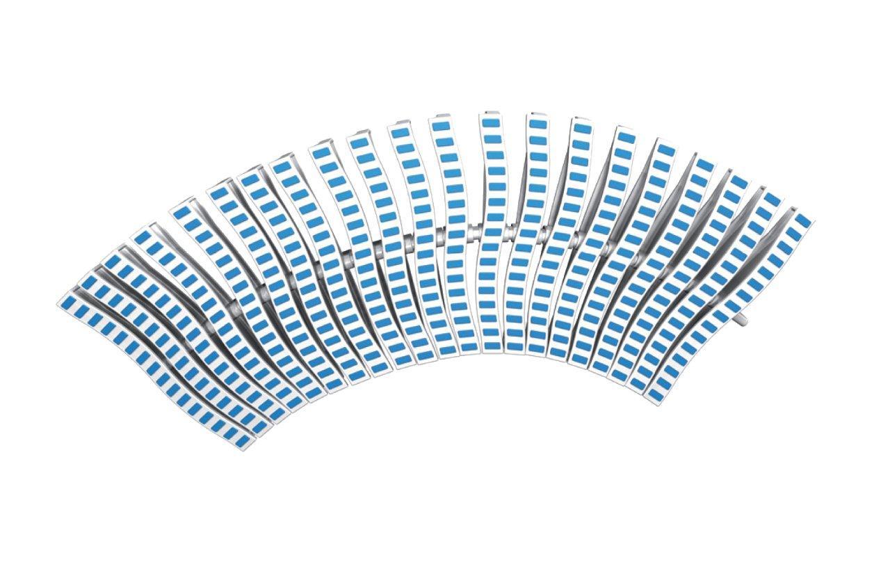 Roll rošt ONDA – flexi, šířka 250 mm, výška 35 mm, délka 500 mm