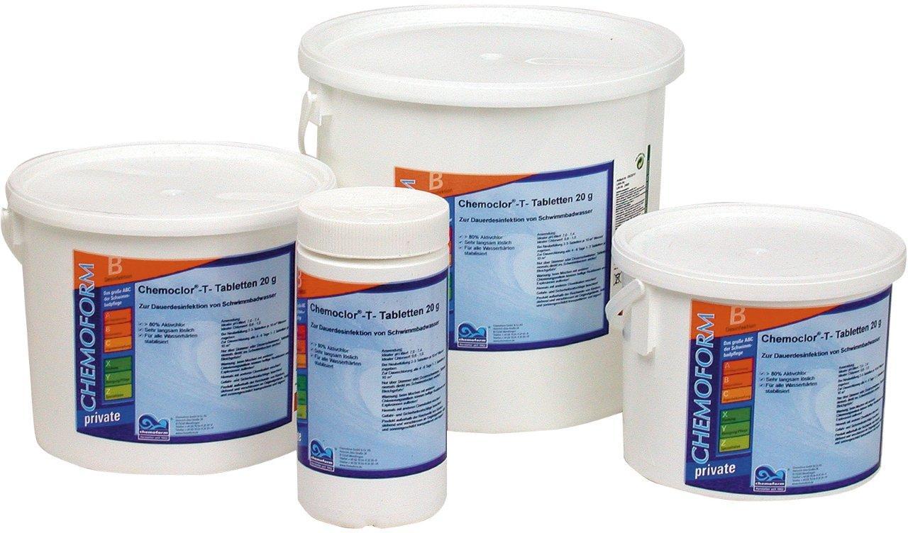 Chlórové tablety Mini 25 kg, tableta 20 g, rychlorozpustné