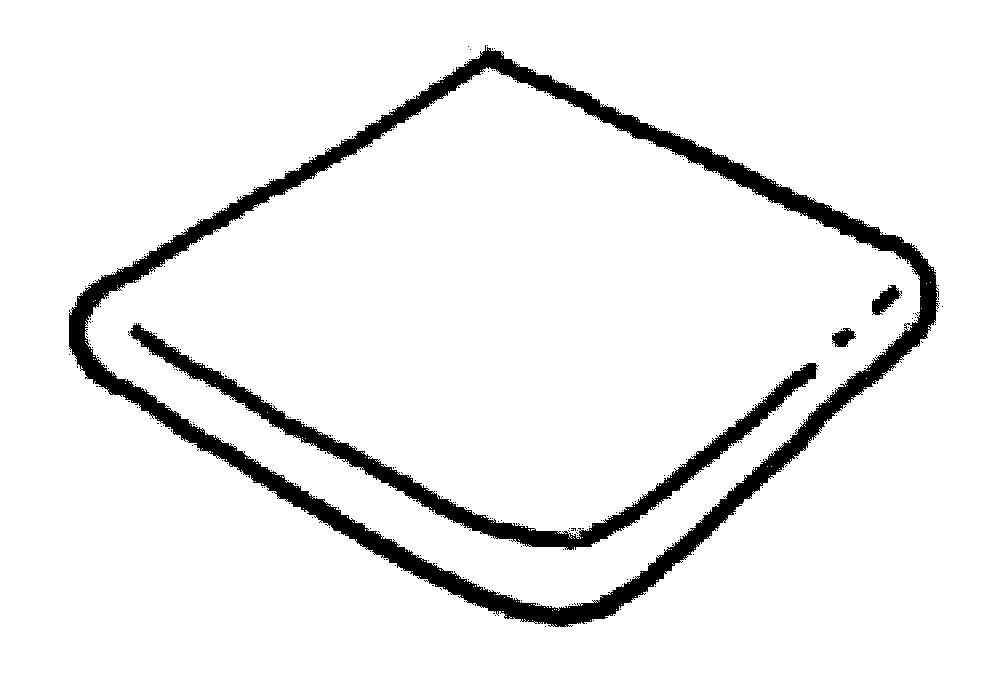 Dlažba Memphis–rohový vybíhající díl ext.,tvar nosu,modul 340x340 mm