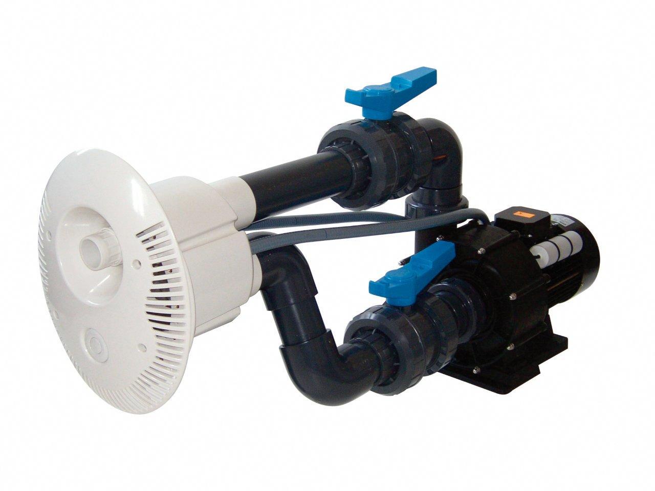 Protiproud V-JET 66 m3/h, 400 V, 2,2 kW, pro fóliové a předvyrobené baz. potrubí