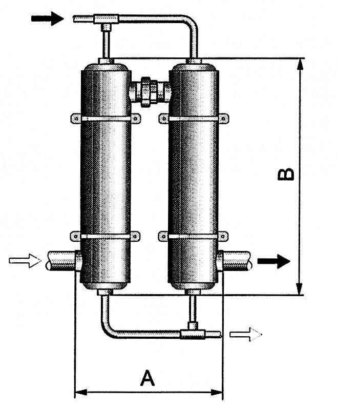 Tepelný výměník Maxi-Flo 204 kW