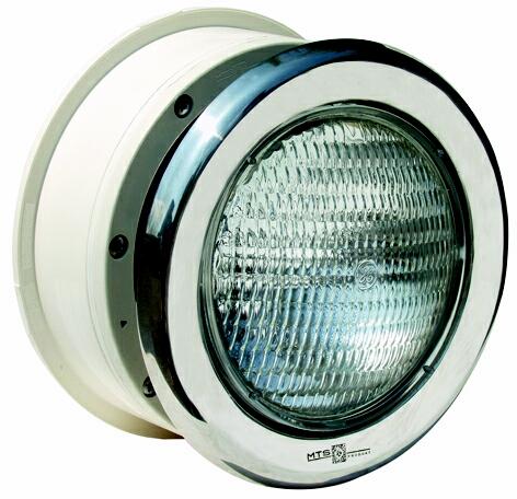 Podvodní světlomet MTS 300 W - nerez, do fólie