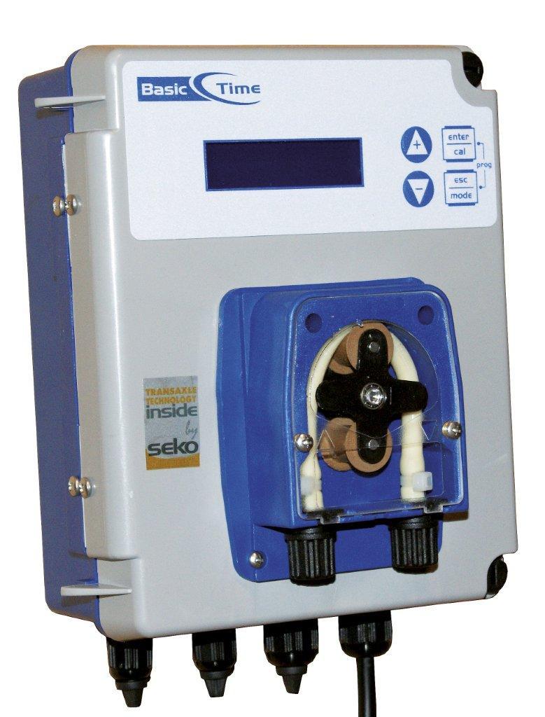 Dávkovací pumpa Basic Time, čas. spínač, použití pro flokulant