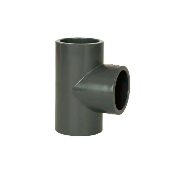 PVC tvarovka - T-kus 90° 140 mm