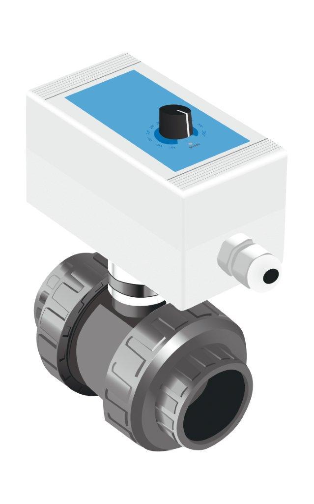 Solar Control SC Compact – el. 2-cestný ventil s teplotním regulátorem