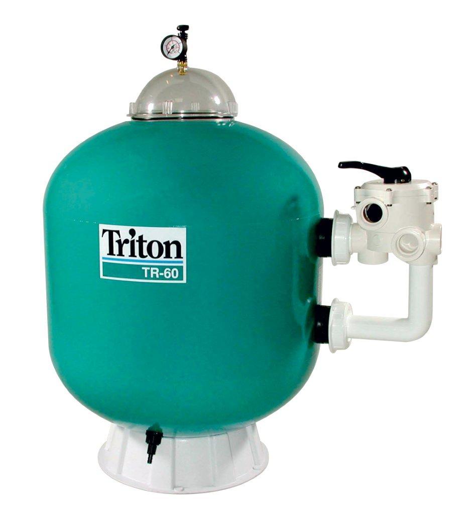 Filtrační nádoba TRITON - TR 60,610 mm,14 m3/h,6-ti cest. boční ventil