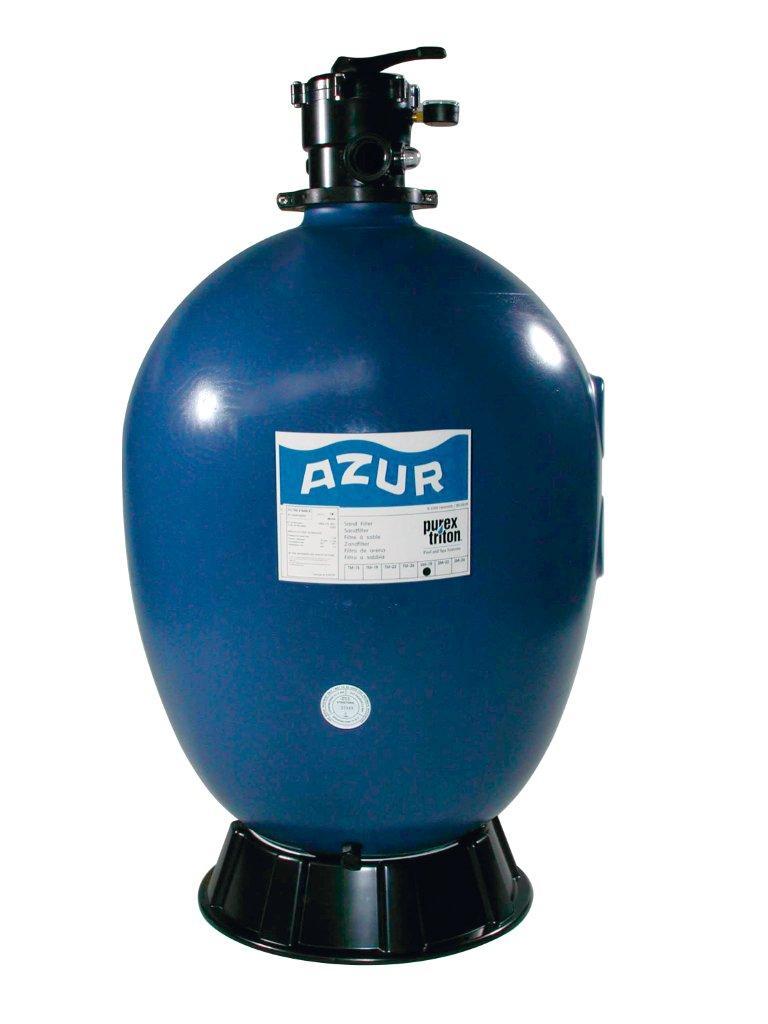 Filtrační nádoba AZUR 660 mm, 17 m3/h, 6-ti cestný top-ventil
