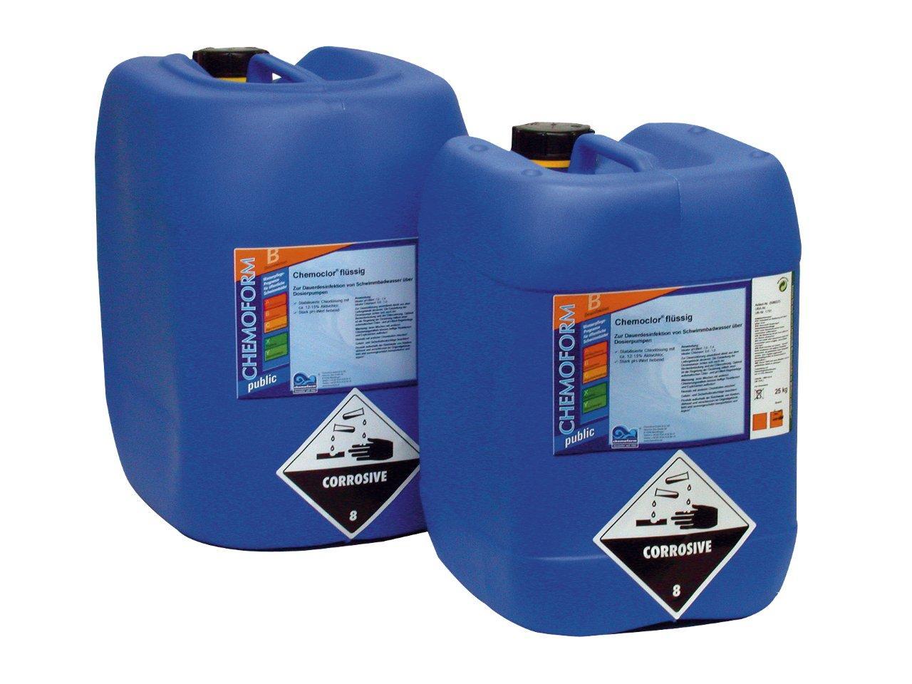 Tekutý přípravek - Chemochlor Stabil – chlornan sodný 35 l