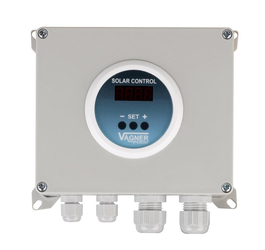 Tepl. diferenční regulátor - Digitál (připraveno na ovládání ventilu)