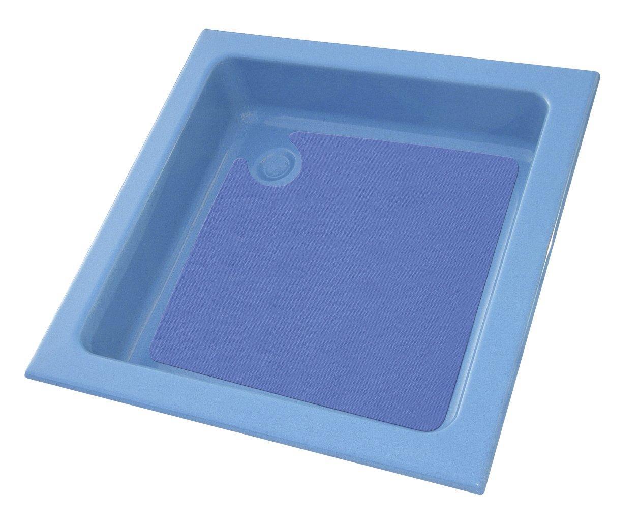 Vanička 90x90 cm, modrá/modrá