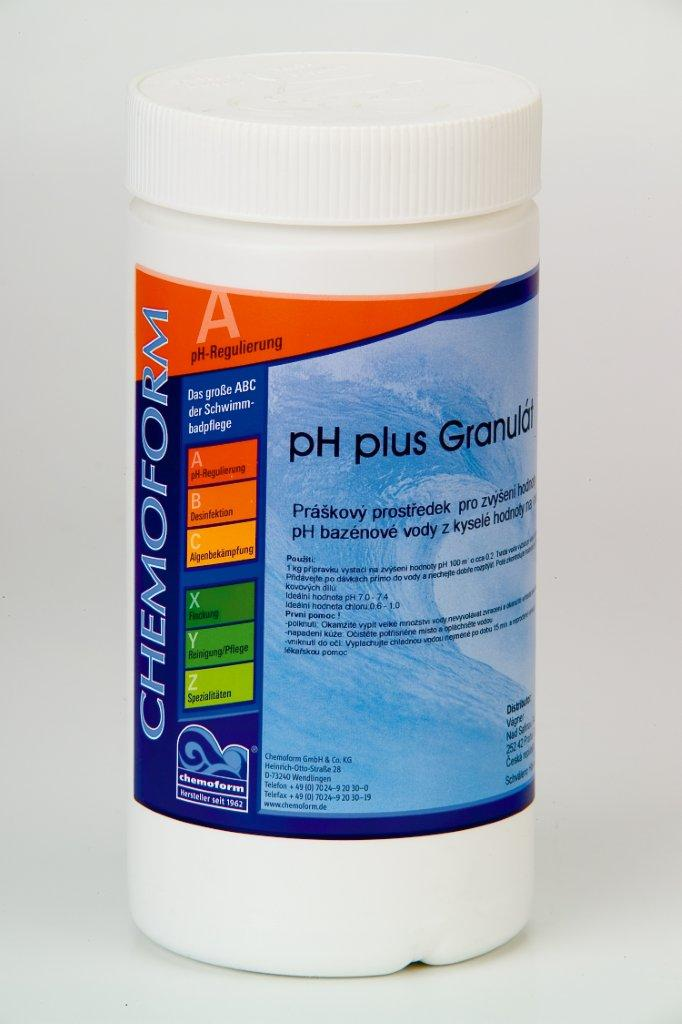 pH Plus 1,0 kg - granulát