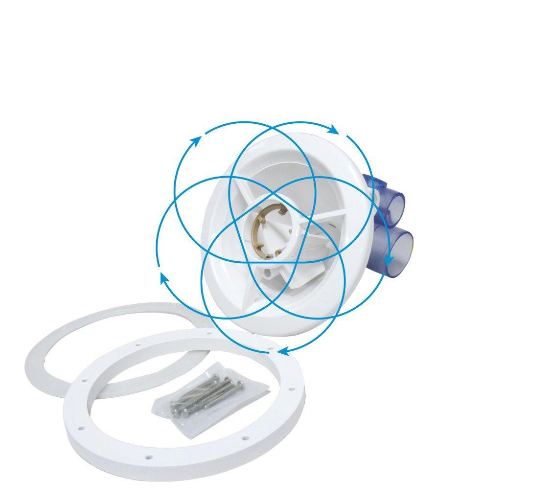 Hydromasážní křížová rotační tryska ABS