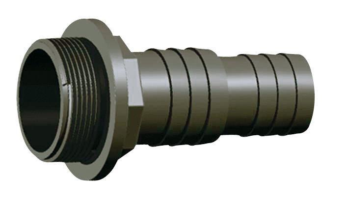 """PVC tvarovka - Trn hadicový 32/38 x 11/2"""" + O-kroužek"""