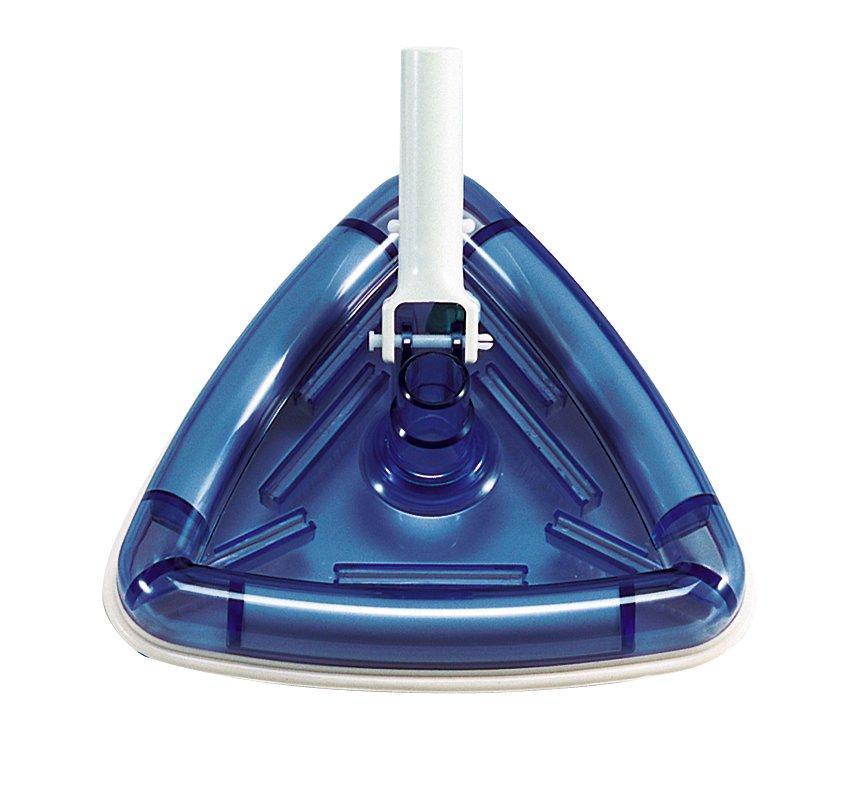 Háromszög alakú átlátszó porszívó, csatlakozás 32/38 mm