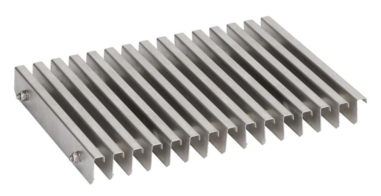Roll rošt nerez standard - 195 mm x 35 mm