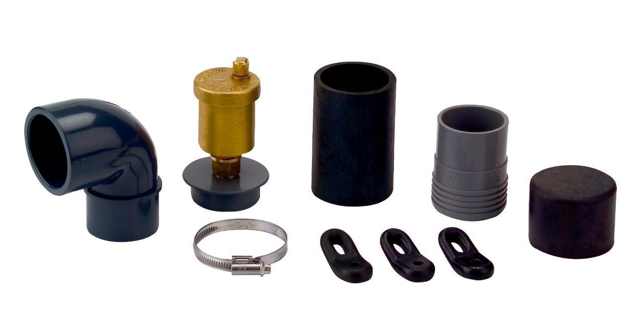 Kolektorová gumová spojka EPDM, napojení na potrubí