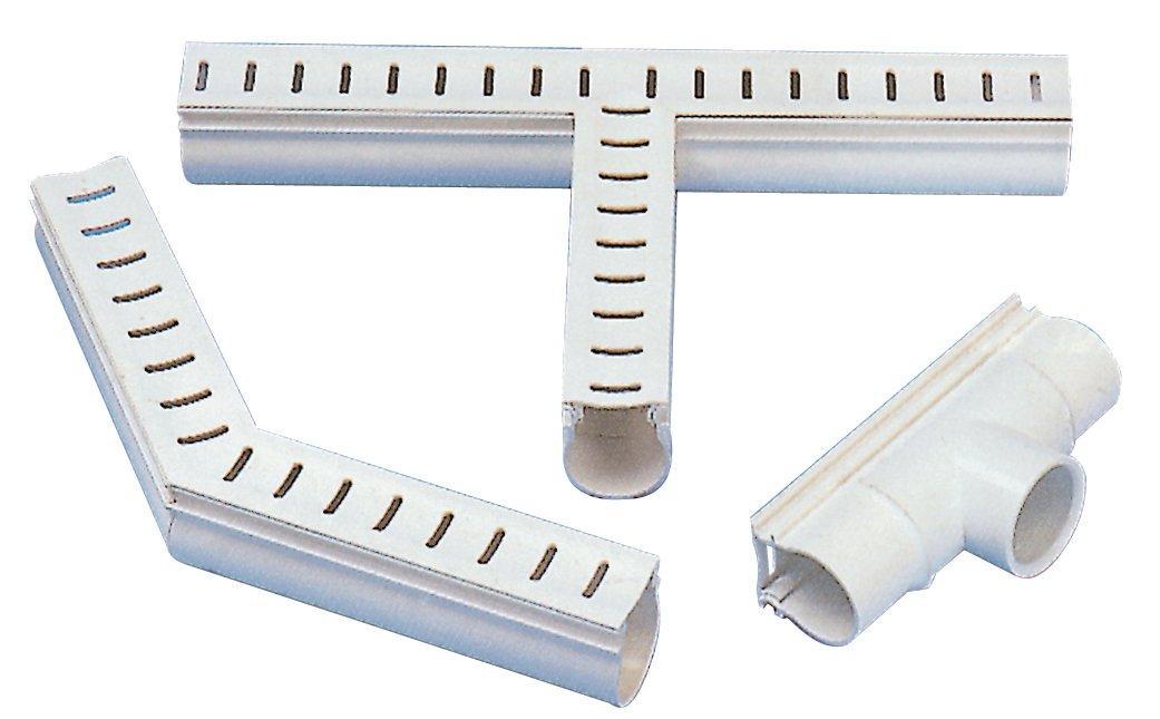 Odvodňovací žlábek s mřížkou (T-kus 90°)