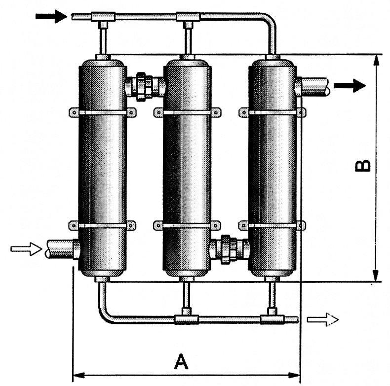 Tepelný výměník Maxi-Flo 195 kW