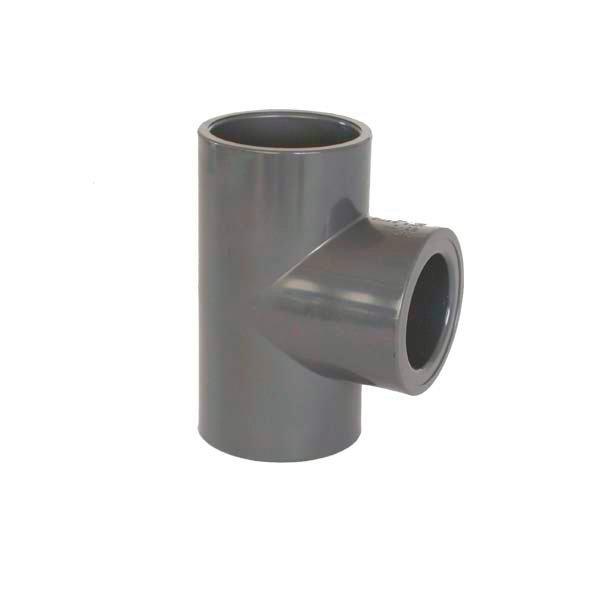 PVC tvarovka - T-kus 90° redukovaný 50 x 25 mm