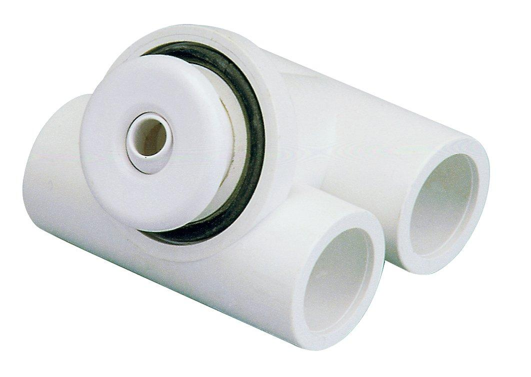 Hydromasážní tryska - Mikrotryska ABS (bílá), d= otvoru 12 mm