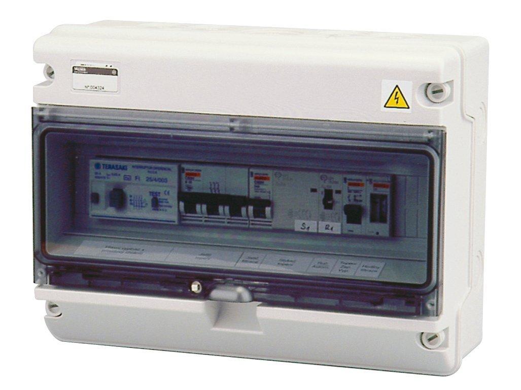 Automatické ovládání pro filtraci/topení - F1E12