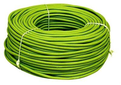 Silikonový kabel 2 x 4 mm2 (zelený)