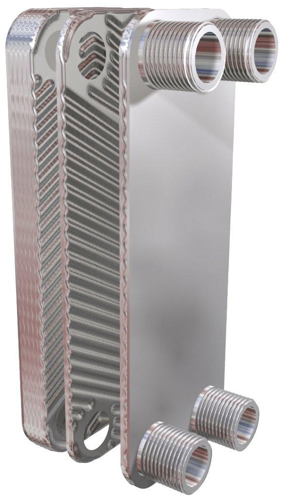 Dvouplášťový deskový výměník OVBDD 33, 33 kW