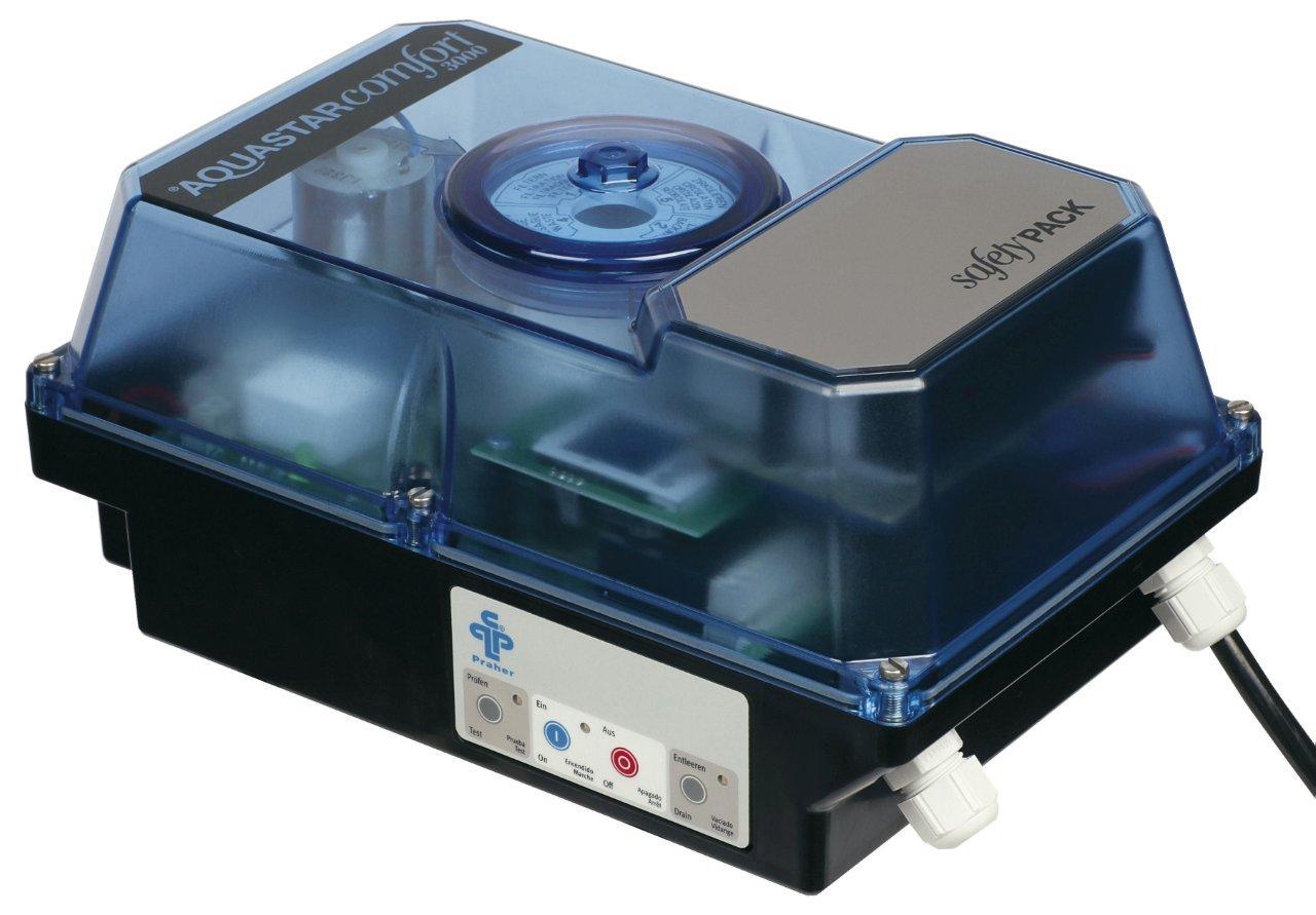 Aquastar 4000 el. ovládání 6-ti cestného ventilu -- tlakově řízený