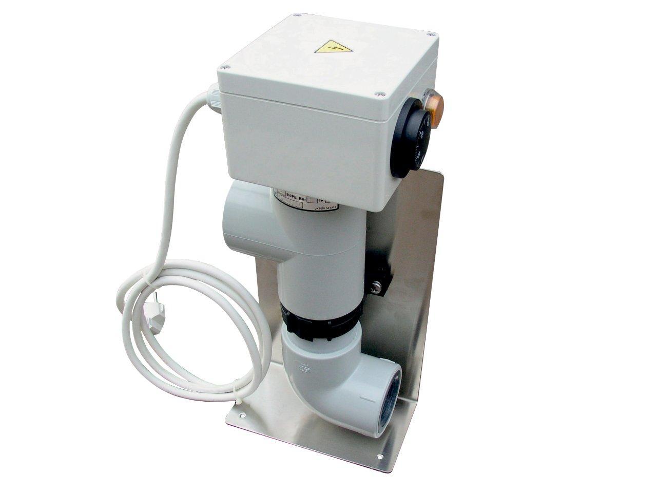 Elektromos fűtés- EOVnTi-3, 3 kW, 230 VTitan- földfeletti medencék részére