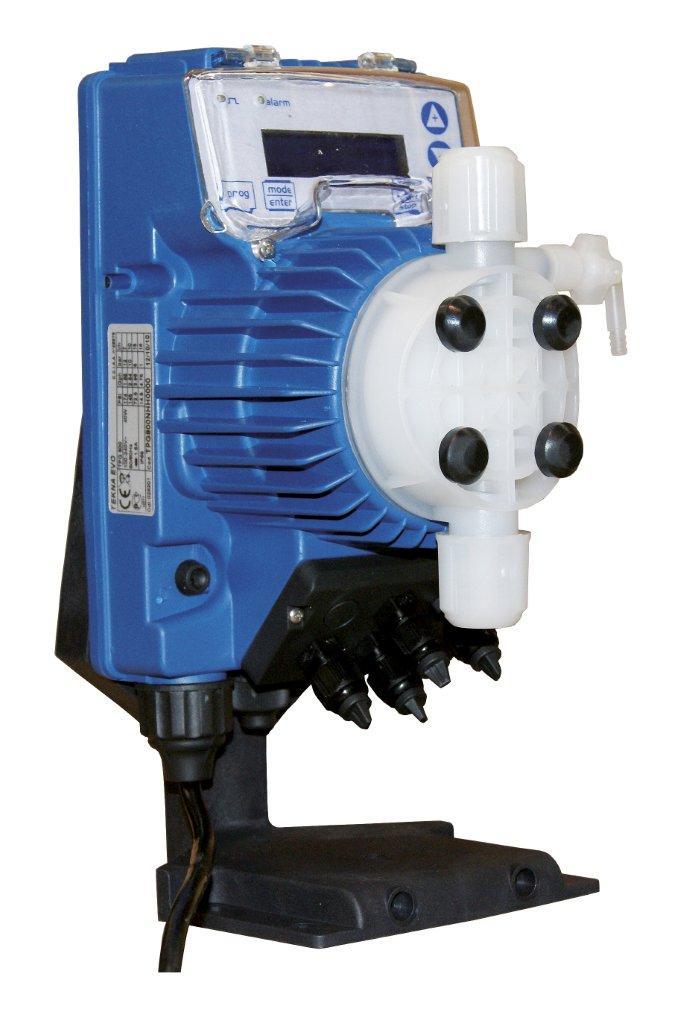 Dávkovací pumpa SEKO Tekna s pH metrem, sonda, držák sondy - TPR