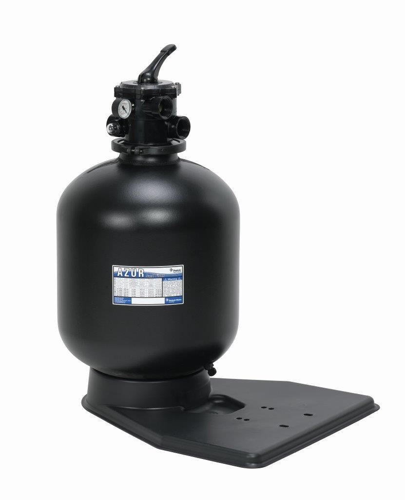Filtrační nádoba AZUR 380 mm, 6 m3/h, 6-ti cestný top-ventil