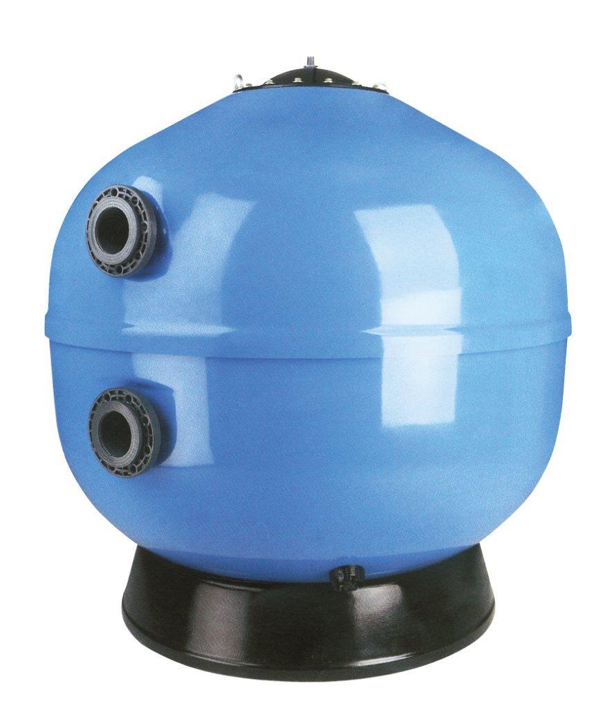 Ovíjené komerční filtry Europe 1400mm, 46 m3/h,písk. lože 1,2 m