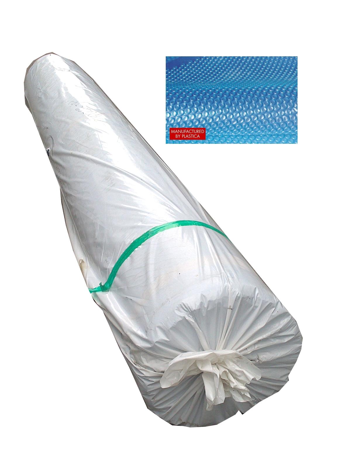 Solární fólie - 360 mic/celá role: 50m x 3,0m, barva modrá