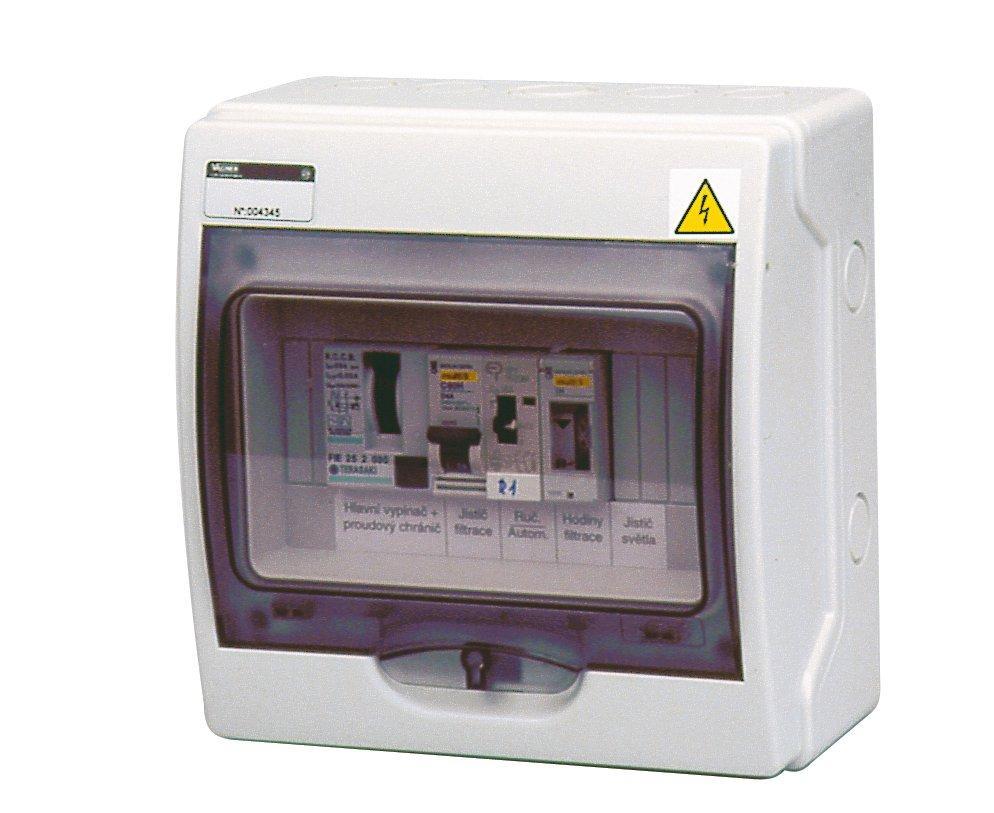 Automatické ovládání pro filtraci - F1