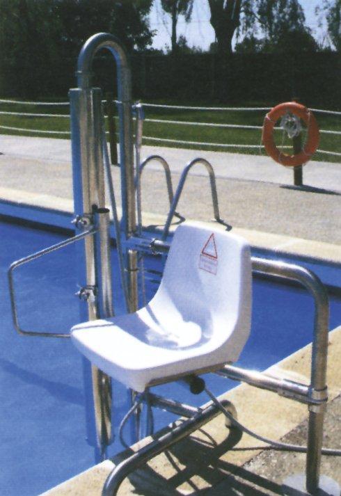 Hydraulický výtah pro bazén - pro osoby do 120 kg