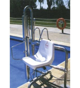 Hydraulic lift baz ny v gner pool for Hydraulic chair lift for swimming pool