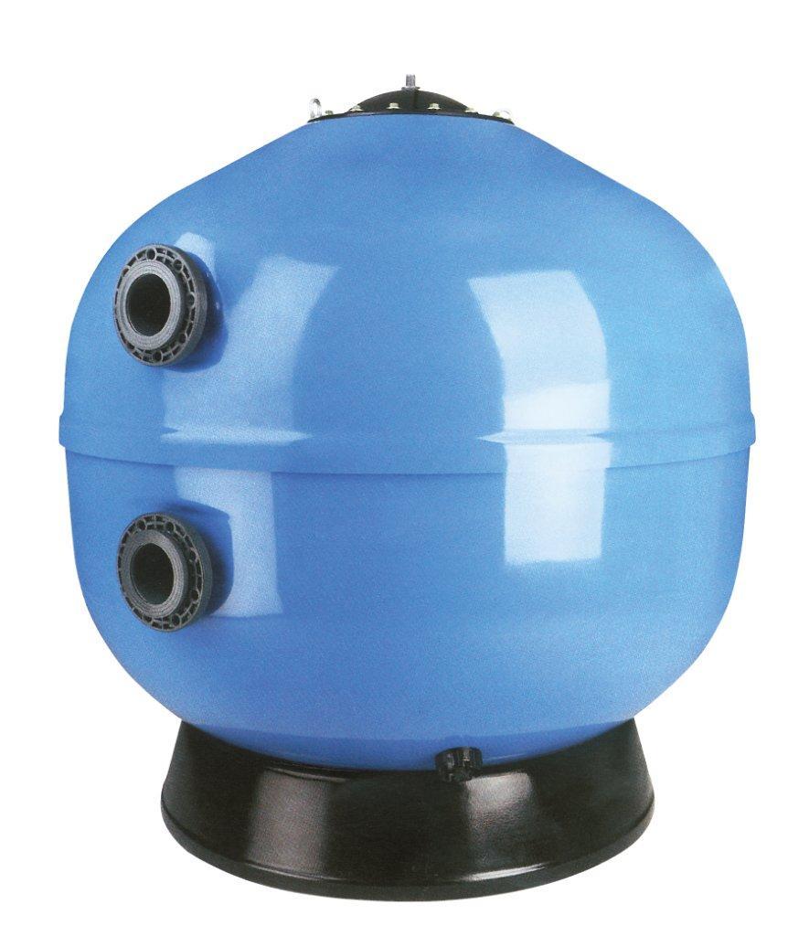 Ovíjené komerční filtry Europe 1400mm, 30 m3/h, písk. lože 1,2 m