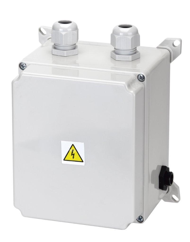 El. ovládání-spínání protiproudu 9-14A,IP65,tlakový spínač;1,2–2,6kW