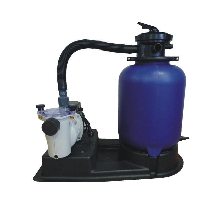 Filtrační jednotka KIT 320, 4m3/h, modrá, 6-ti cest.ventil