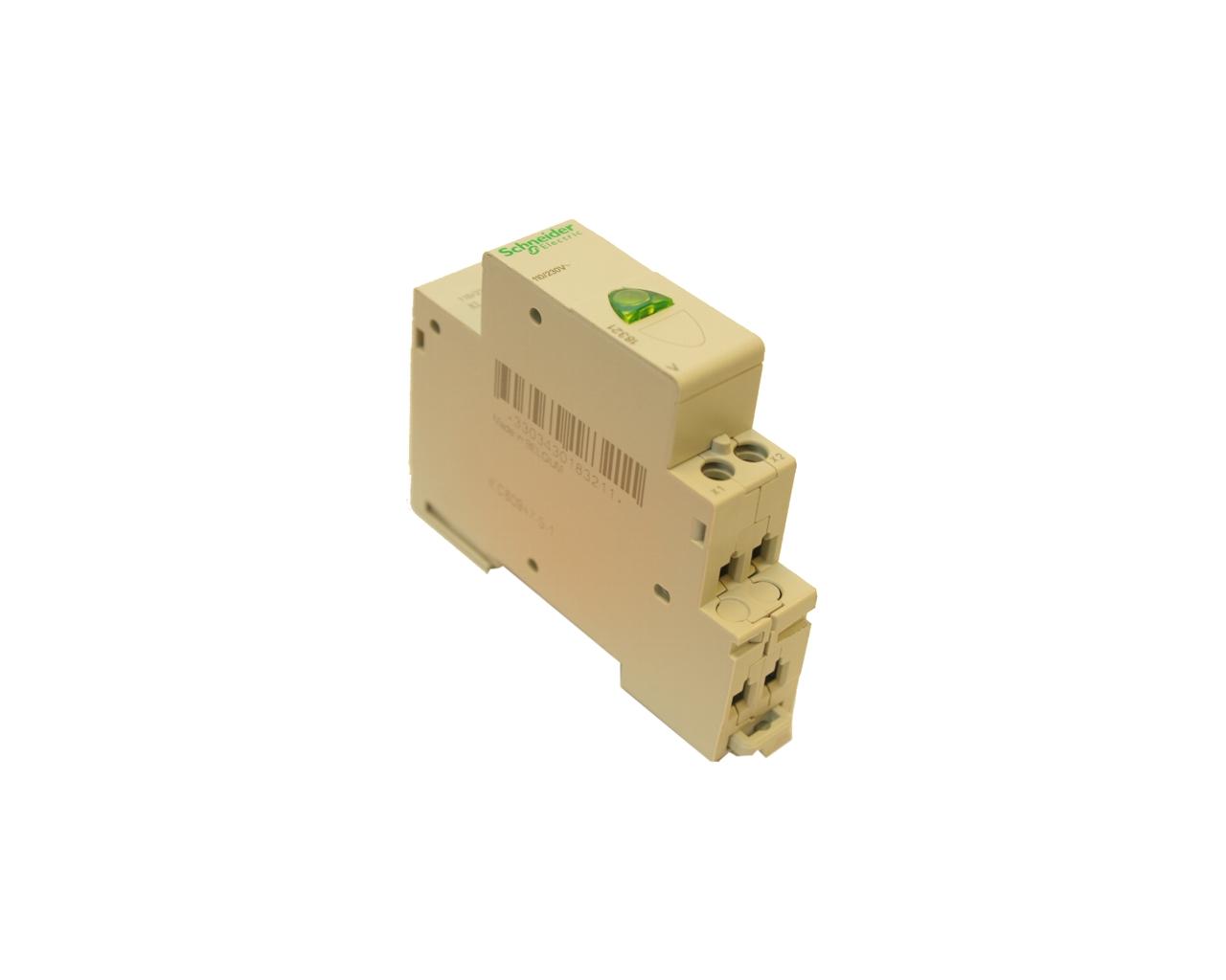 Kontrolka na DIN lištu – zelená 230 V